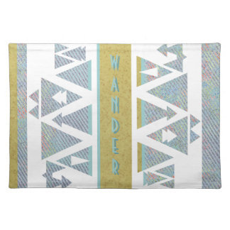 All Who Wander Tablemat Cloth Placemat