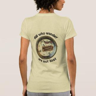 All who wander tshirt