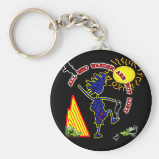 All Who Wander Whimsy Keychain