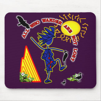 All Who Wander Whimsy Mouse Pad