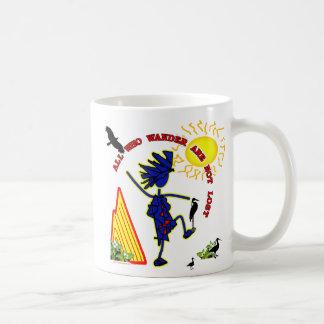 All Who Wander Whimsy Coffee Mug