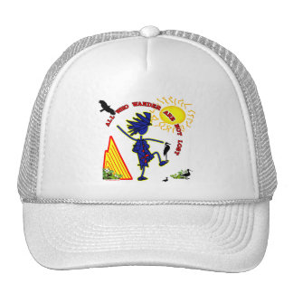 All Who Wander Whimsy Trucker Hat