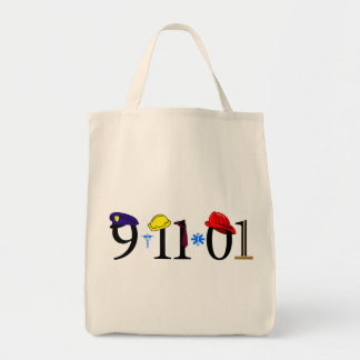 All who were lost 9-11-01 canvas bag