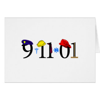 All who were lost 9-11-01 card