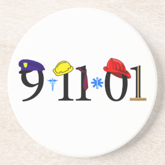 All who were lost 9-11-01 drink coasters