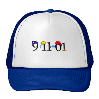 All who were lost 9-11-01 mesh hats