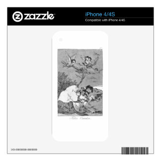 All will fall by Francisco Goya iPhone 4S Skins
