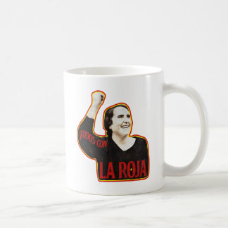 ALL WITH THE RED ONE COFFEE MUG