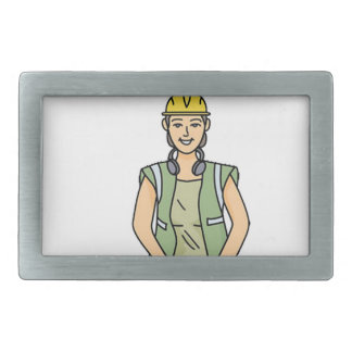 All Women Are Created Equal Then a Few Become Engi Rectangular Belt Buckle