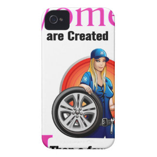 All Women Are Created Equal Then a Few Become Mech iPhone 4 Case-Mate Case