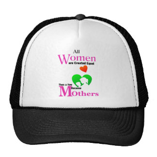 All Women Are Created Equal Then a Few Become Moth Trucker Hat