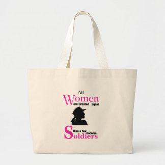 All Women Are Created Equal Then a Few Become Sold Large Tote Bag