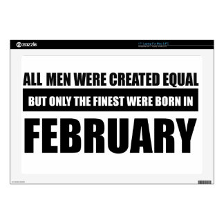 All women were created equal february designs decals for laptops