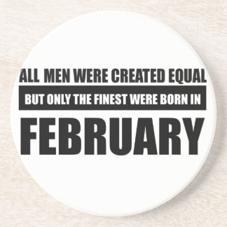 All women were created equal february designs sandstone coaster
