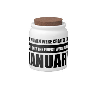 All women were created equal January designs Candy Dish