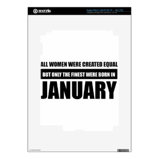 All women were created equal January designs Skins For iPad 3