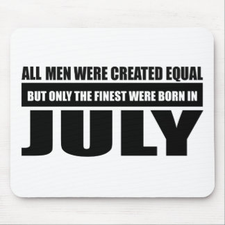 All women were created equal July designs Mouse Pad