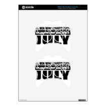 All women were created equal July designs Xbox 360 Controller Skin