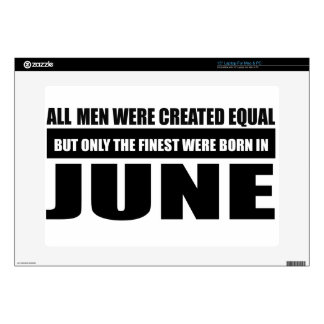All women were created equal June designs Decal For Laptop