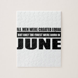 All women were created equal June designs Jigsaw Puzzle