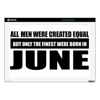 All women were created equal June designs Laptop Decals