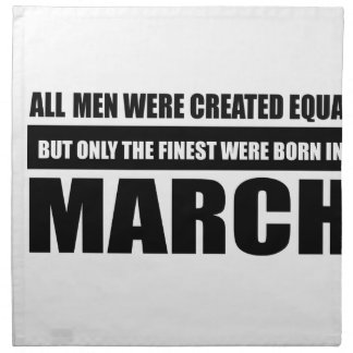 All women were created equal March designs Napkin