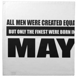 All women were created equal may designs napkin
