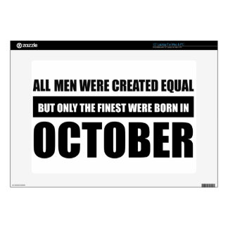 All women were created equal october  designs laptop skin