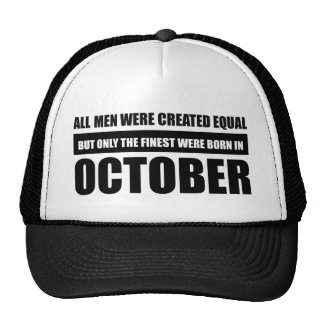 All women were created equal october  designs trucker hat