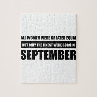 All women were created equal september  designs jigsaw puzzle