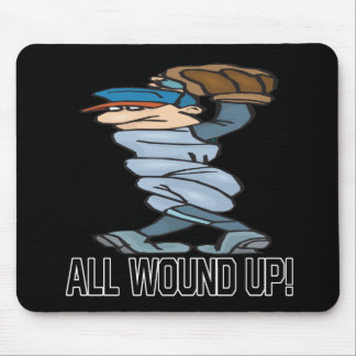 All Wound Up Mouse Pad