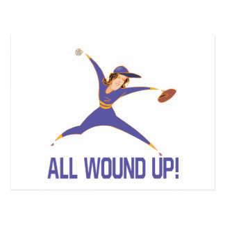 All Wound Up Postcard