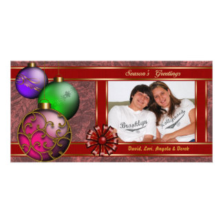 All Wrapped In Ribbon Photo Card