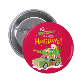 All Wrapped Up 2 Inch Round Button