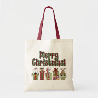 All Wrapped Up Christmas Gift Tote Bag
