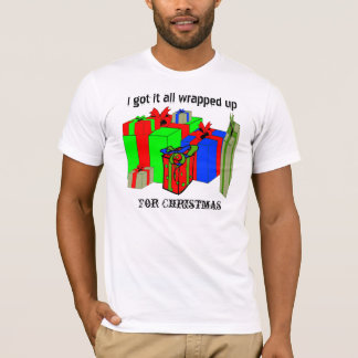 All wrapped up for Christmas. Customize Me! T-Shirt