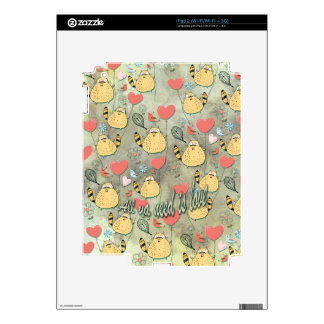 All ya need is love. by Scared E. Cat. Decals For The iPad 2