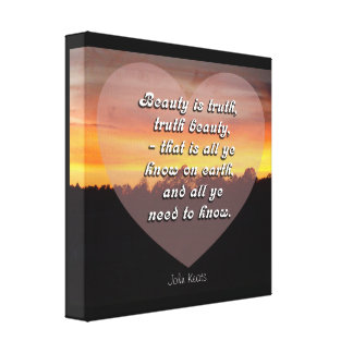 All ye need to know - Canvas art print