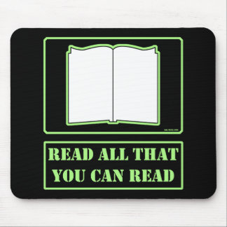 All You Can Read Mouse Pad