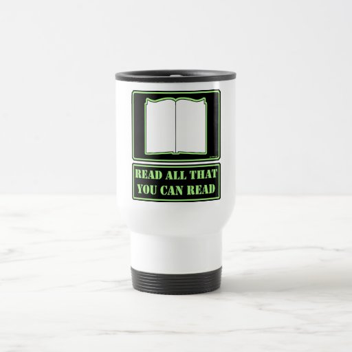 All You Can Read Coffee Mugs