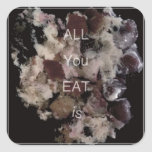 all you eat is _sticker square sticker