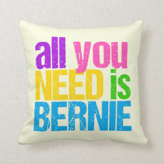 All You Need is Bernie Throw Pillow