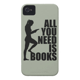 All you need is books iPhone 4 Case-Mate case