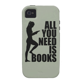 All you need is books iPhone 4 cover