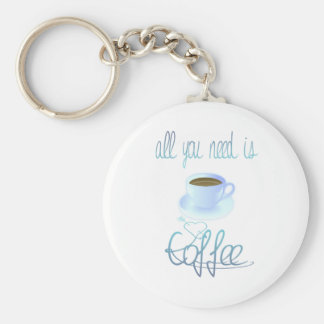 All You Need Is Coffee Keychain