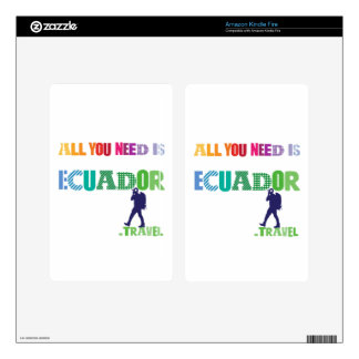 All You need Is Ecuador_Travel Kindle Fire Decals
