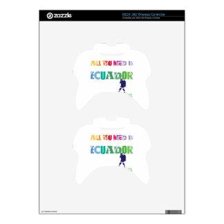 All You need Is Ecuador_Travel Xbox 360 Controller Skins