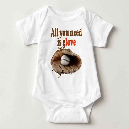 All you need is Glove Baby Bodysuit