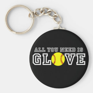 All you Need is Glove! Keychain