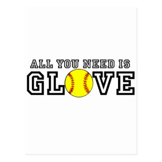 All you Need is Glove! Postcard
